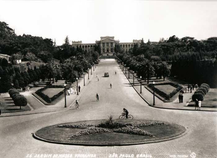 Parque Da Independencia Sp Com A Visao Voltada Para O Museu
