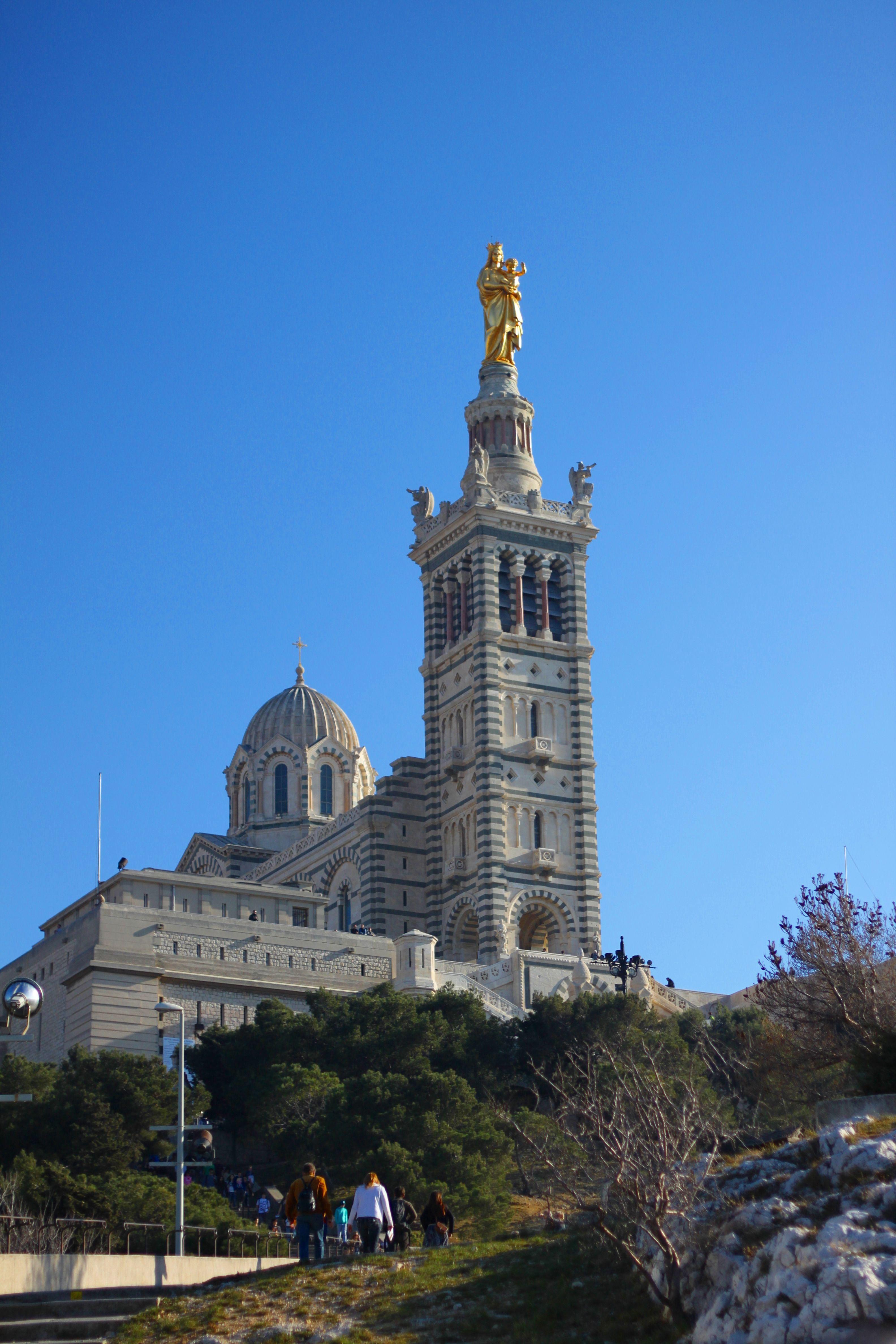 Notre Dame De La Garde Marseille France Travel Ferry Building San Francisco France