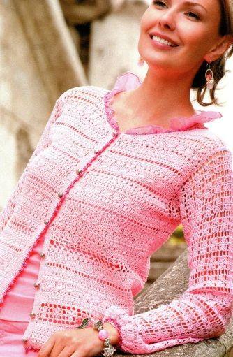 Gilet Au Crochet Superbe La Grenouille Tricote Veste En