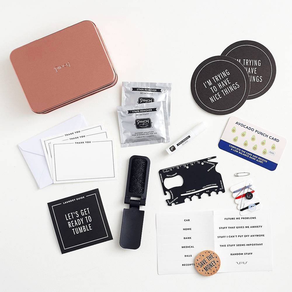 Adulting Survival Kit With Images Survival Kit Gifts Punch