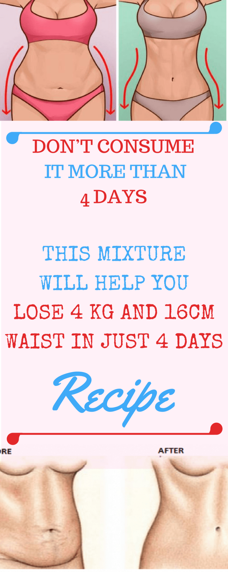 How to lose more than 4 kg in a week using rice 78