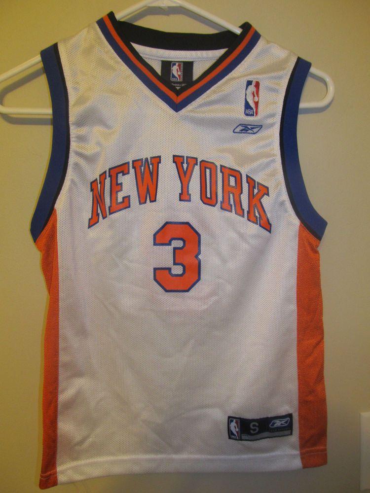 c300180becc2 Stephon Marbury - New Yorks Knicks jersey - Reebok youth small  Reebok   NewYorkKnicks