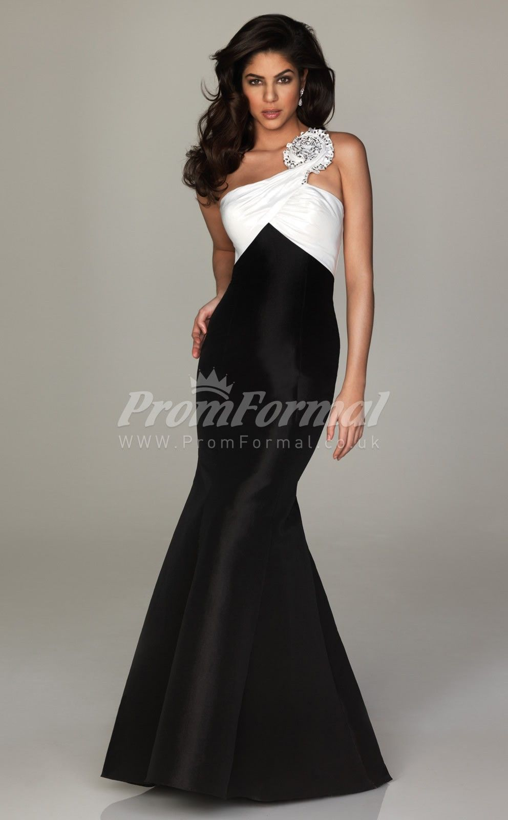 Black and white long prom dressesprom dresses wedding ideas