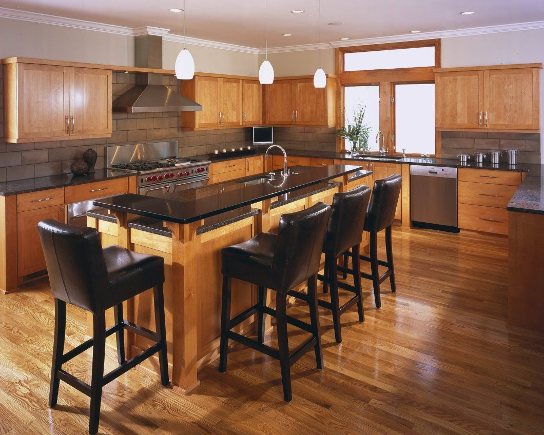 narrow kitchen islands with seating - Google Search ...