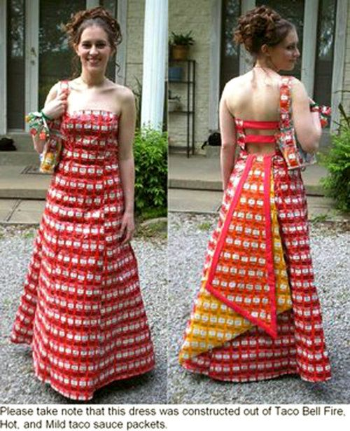 Taco Wedding Dress