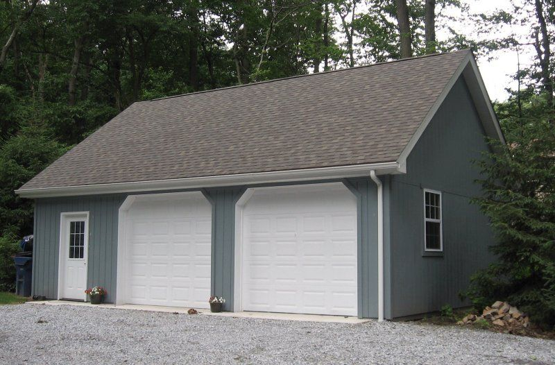 24x32 Pole Barn Garage Outdoor Spaces In 2019 Pole