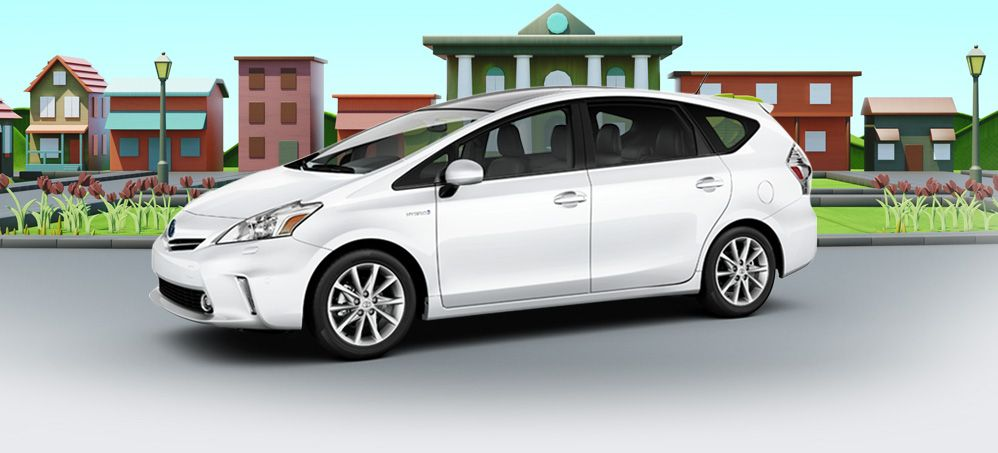New Prius Hybrid Wagon Way Cooler Than A Minivan Toyota Prius