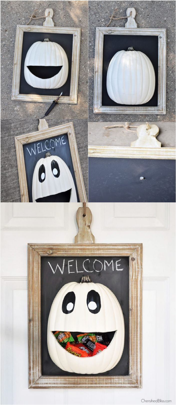 15 Welcoming DIY Halloween Decor For Door Or Porch