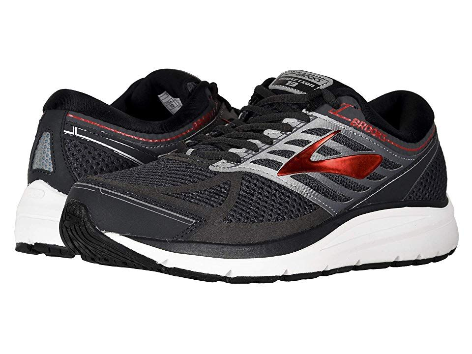 9db02069992 Brooks Addiction 13 (Ebony Black Red) Men s Running Shoes. Crush mile