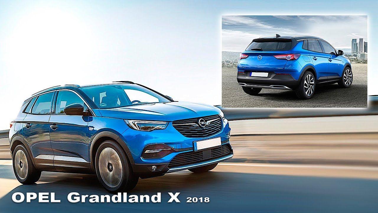 Opel Grandland X 2018 Interer I Eksterer New Opel Grandland