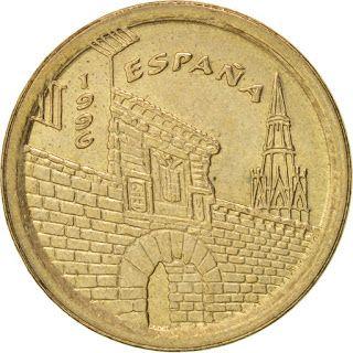 Spain Coins 5 Pesetas 1996 La Rioja Spain Monedas Logrono