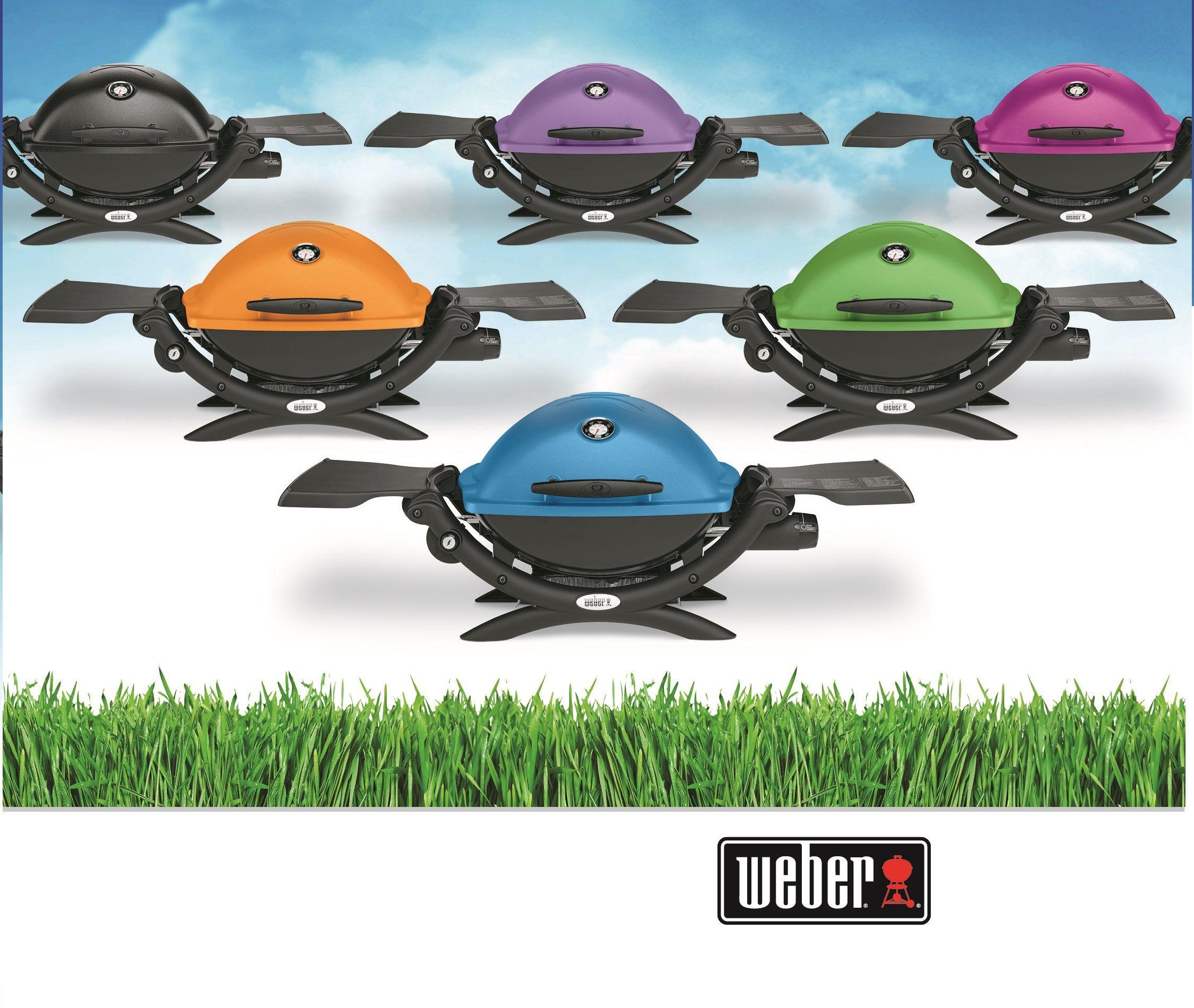 Weber Q Colors Asadores