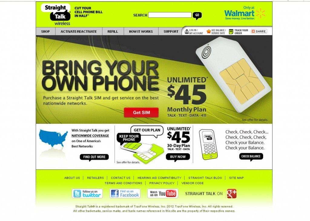 Straight talk wireless promotional code