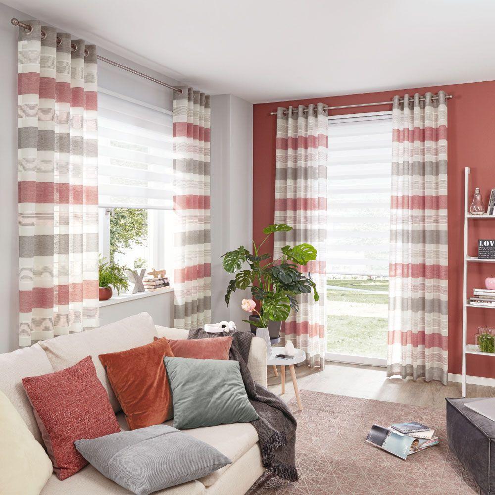 Vorhang Dekostoff Fur Ihr Wohn Oder Schlafzimmer In 2020 Wohnen Vorhange Haus Deko