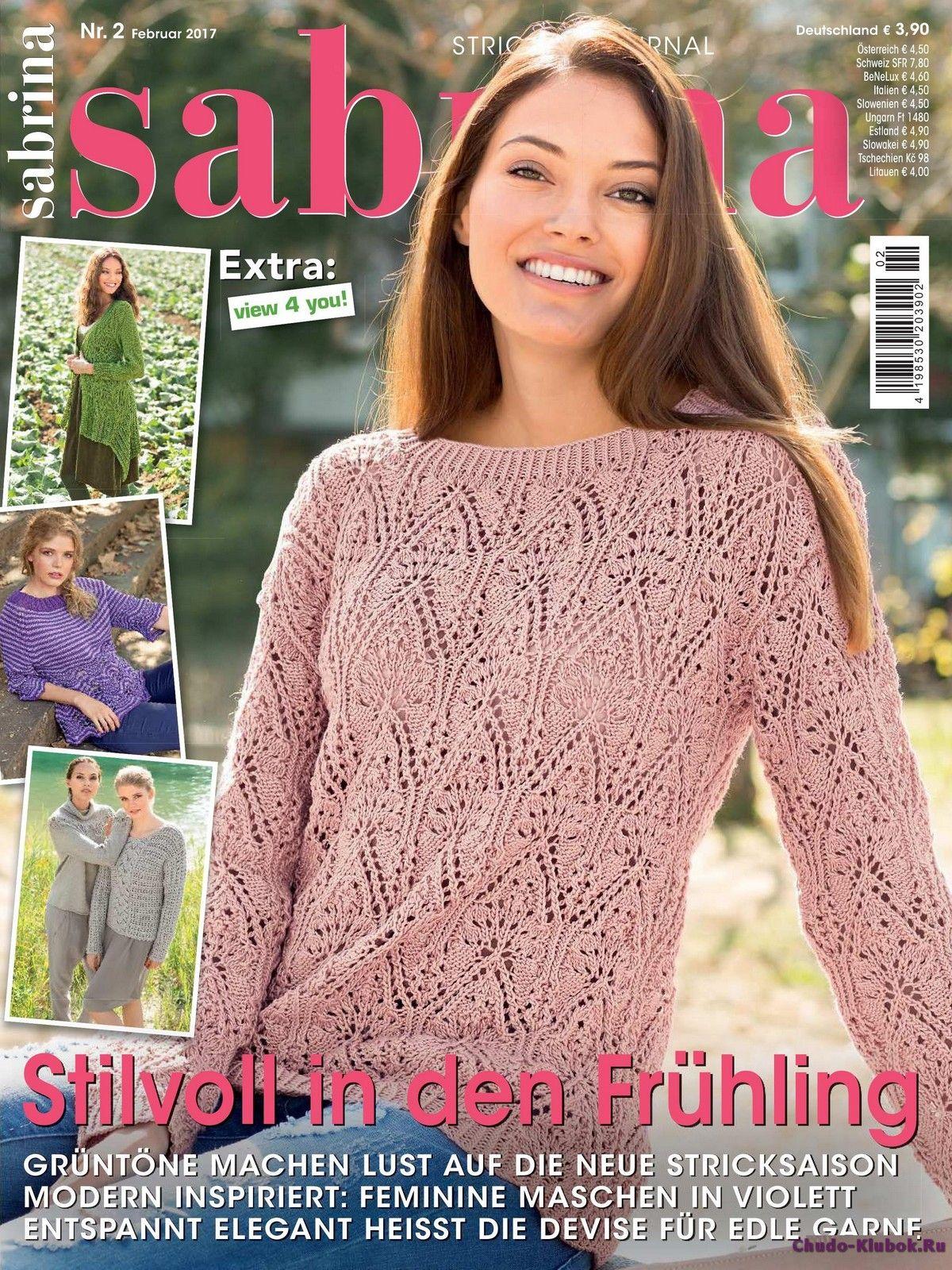 Sabrina 2 2017 Zeitschriften Pinterest Stricken Häkeln Und