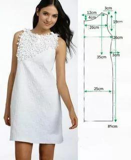 Платье летнее на женщину своими руками с выкройками