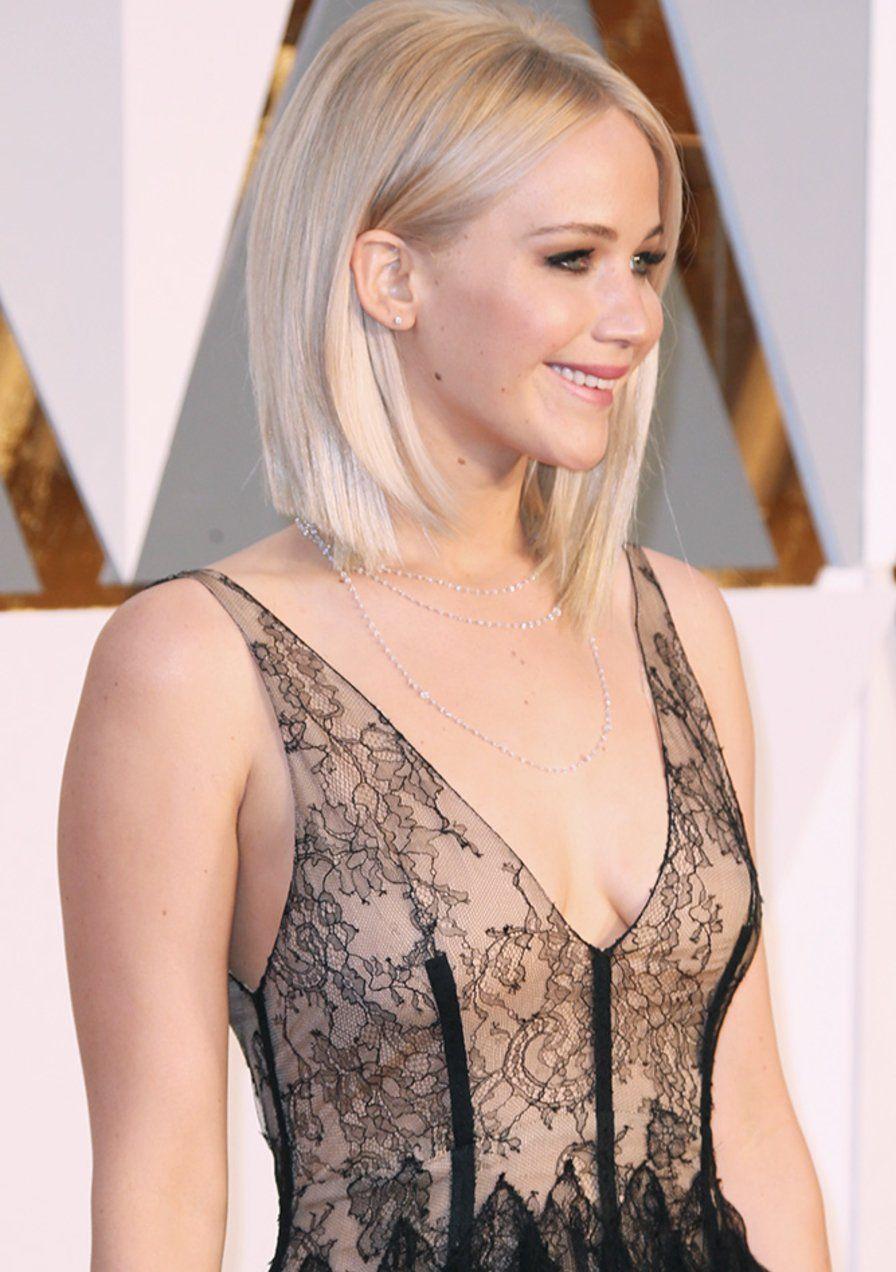 1 Schnitt 7 Frisuren Der Bob Von Jennifer Lawrence Jennifer Lawrence Haar Jennifer Lawrence Frisur Bob Frisur