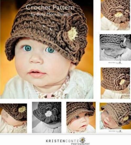 Crochet Hat Patterns For Babies By Tricia Roberts Crochet Baby