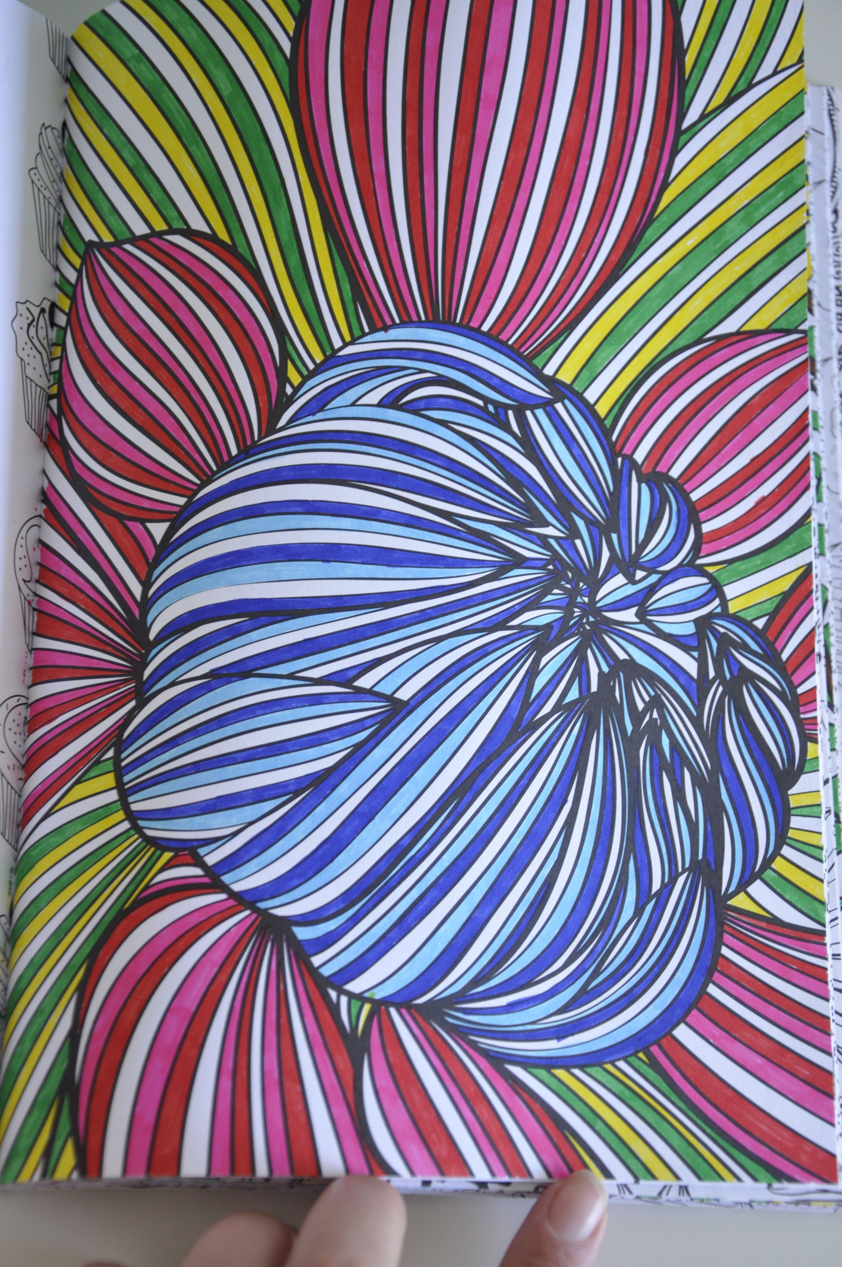 Het Enige Echte Kleurboek Voor Volwassenen Kleurboek Kleuren Creativiteit