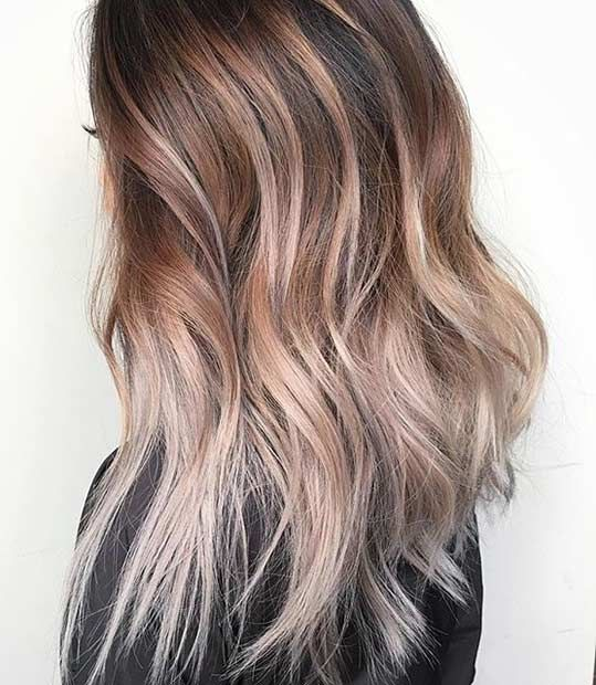 21 stunning summer hair color ideas haar haarfarben und frisur. Black Bedroom Furniture Sets. Home Design Ideas