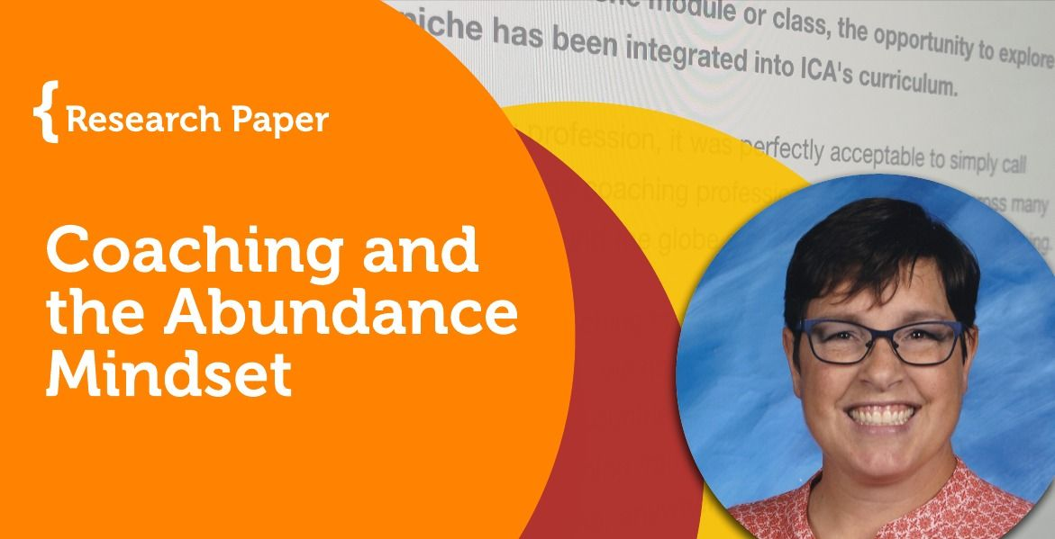 Research Paper Coaching and the Abundance Mindset in 2020