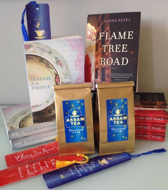 My books and Assam Tea go hand in hand. Cheers!