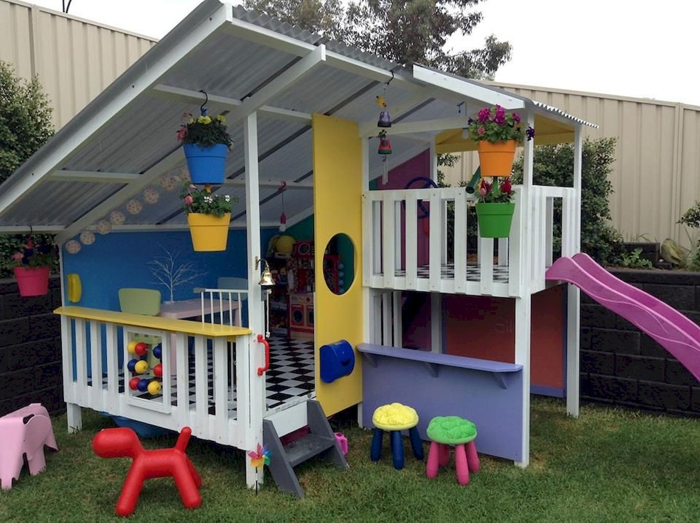 Maison Pour Enfant Exterieur 70 awesome small backyard playground landscaping ideas