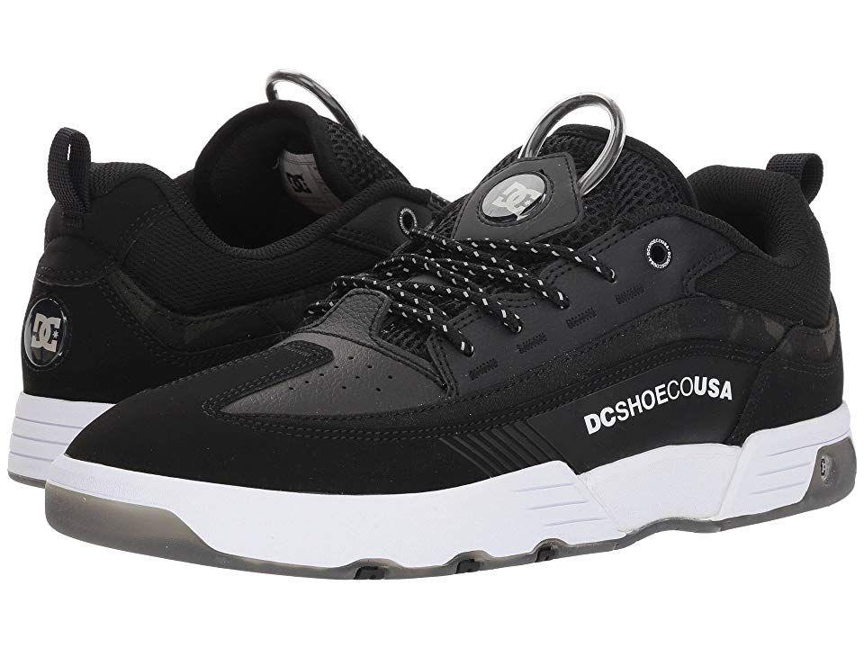 DC Legacy 98 Slim (BlackCamo) Men's Skate Shoes. Bring