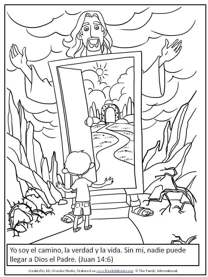 Image Result For Dibujos Para Colorear Con Vers Lecciones De Biblia Para Preescolar Manualidades Biblicas Para Preescolares Actividades De La Escuela Dominical