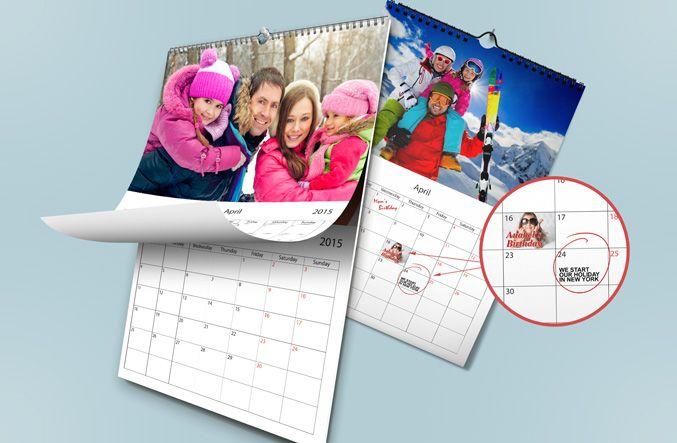 Wall #Calendar - £17.95  - on printerpix.co.uk - http://tinyurl.com/n96ovhw