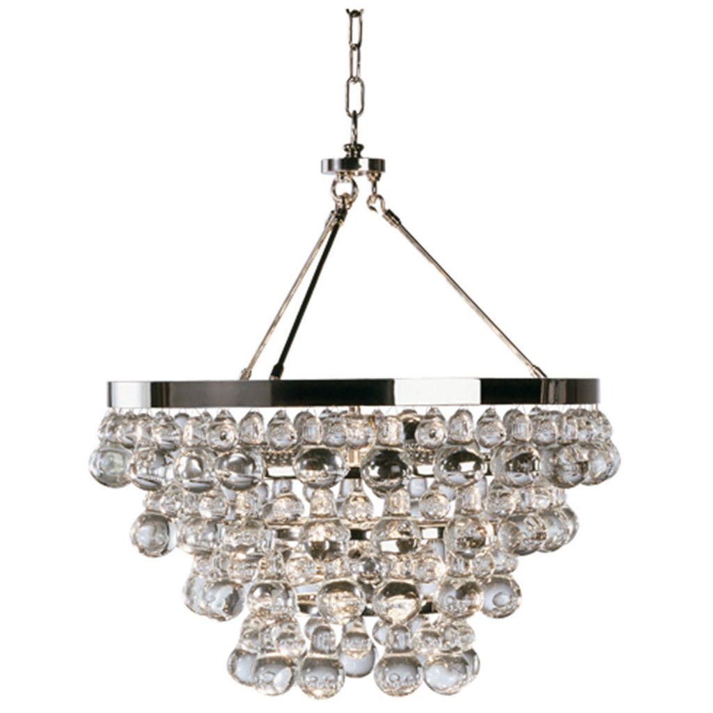 Robert Abbey Bling Chandelier With Convertible Double Canopy S1000