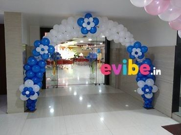 Normal Balloon Entrance Arch Theme Birthday Decorations in
