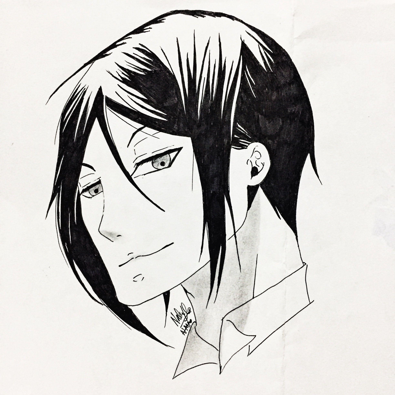 Kuroshitsuji blackbutler Art, Kuroshitsuji, Anime