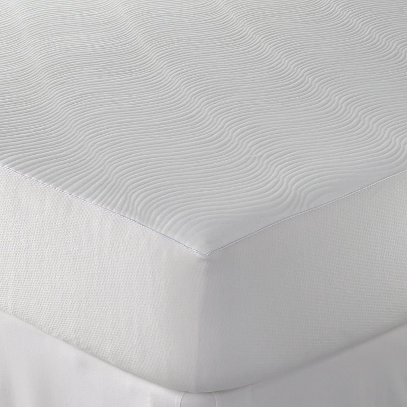 Sealy Cooling Comfort Textured Mattress Protector Comfort