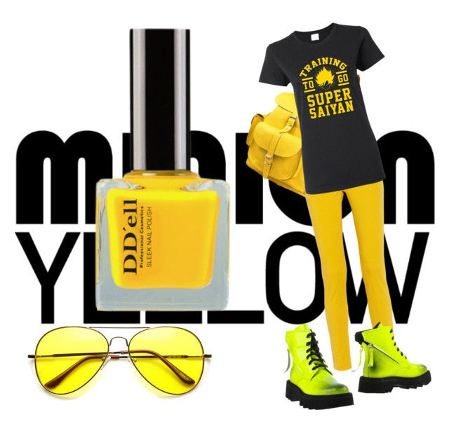 """""""Minion yellow"""" by charliewalker27 on Polyvore"""