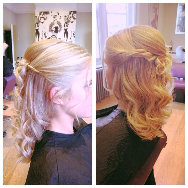 Flower Girl Hairstyles For Wedding: Pin By Michelle K On Flower Girl Hair Dos