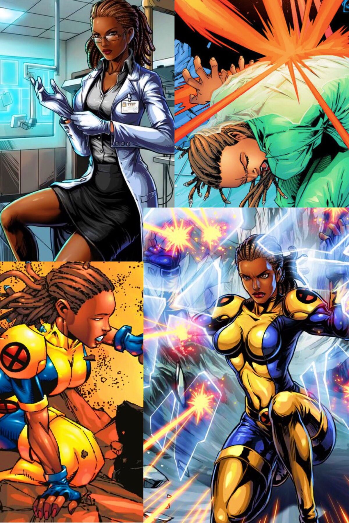 Dr cecilia reyes marvel and dc characters black comics