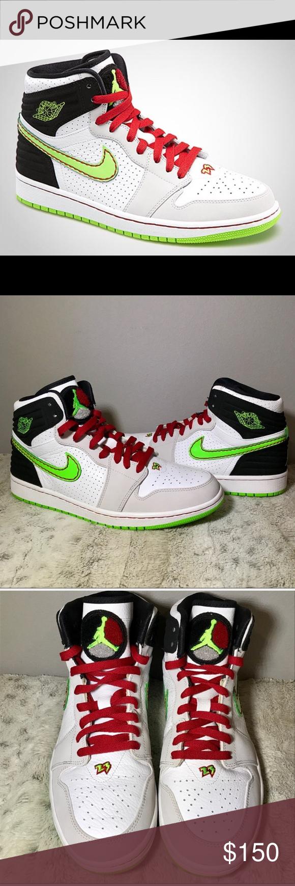 94f928536279 🔥RARE Air Jordan 1 Retro  93 Electric Green 11 🔥RARE Air Jordan 1