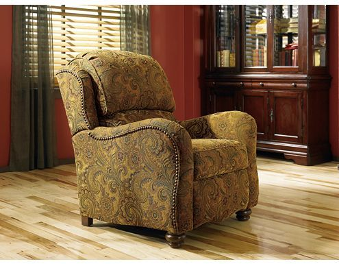Searching for a pretty recliner that my husband will like