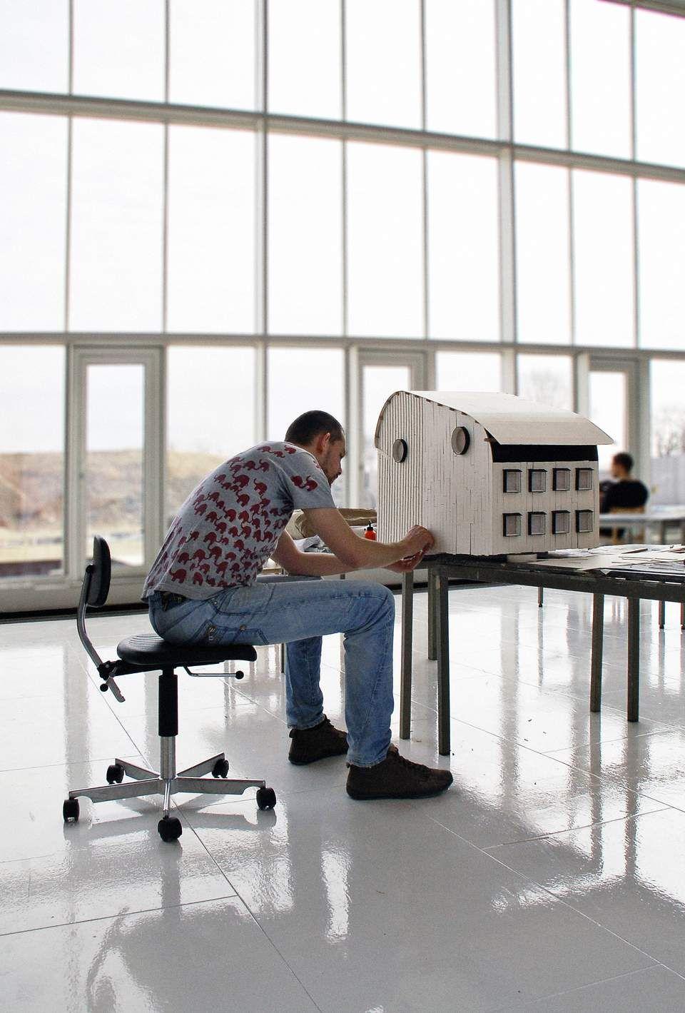 Arkitekt Model Materialer