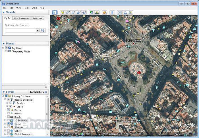 Google Earth Lets You Fly Anywhere On Earth To View Satellite - Google 3d satellite map