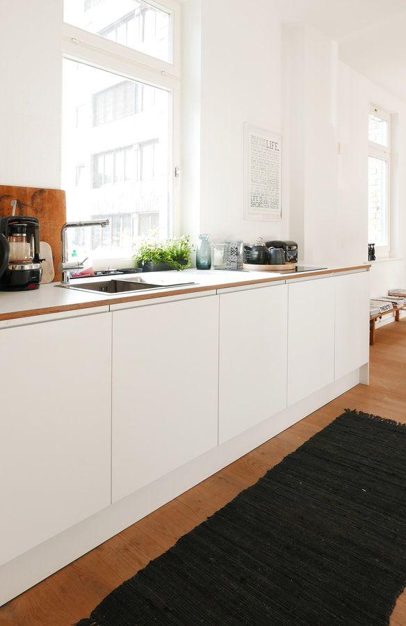 Unsere Kuche Im Buro Kitchens Pinterest Kitchen Interior