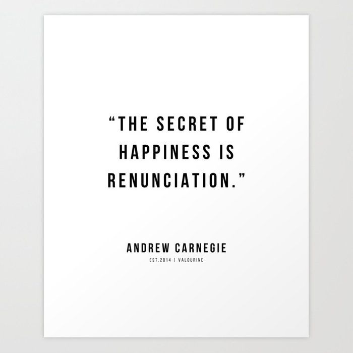 35 |Andrew Carnegie Quotes | 21010 | Motivational Inspirational Success Quote Personal Development Business Coach Art Print by Wordz