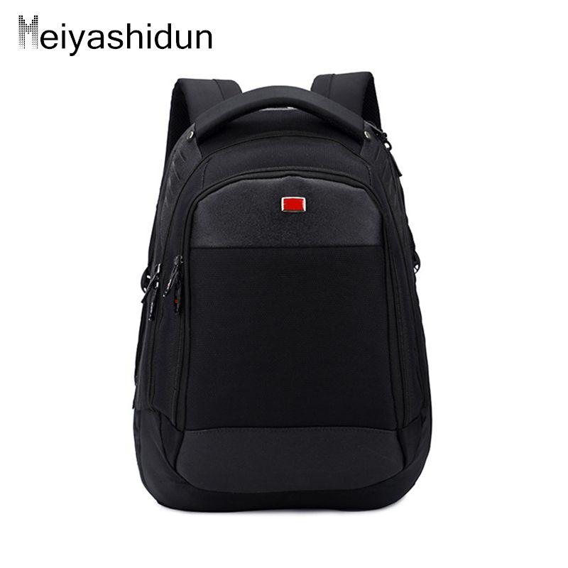 b70e5abf4c07 Bag · Meiyashidun Men s backpack waterproof Quality Nylon Swiss Backpack  Men 15 inch Laptop ...