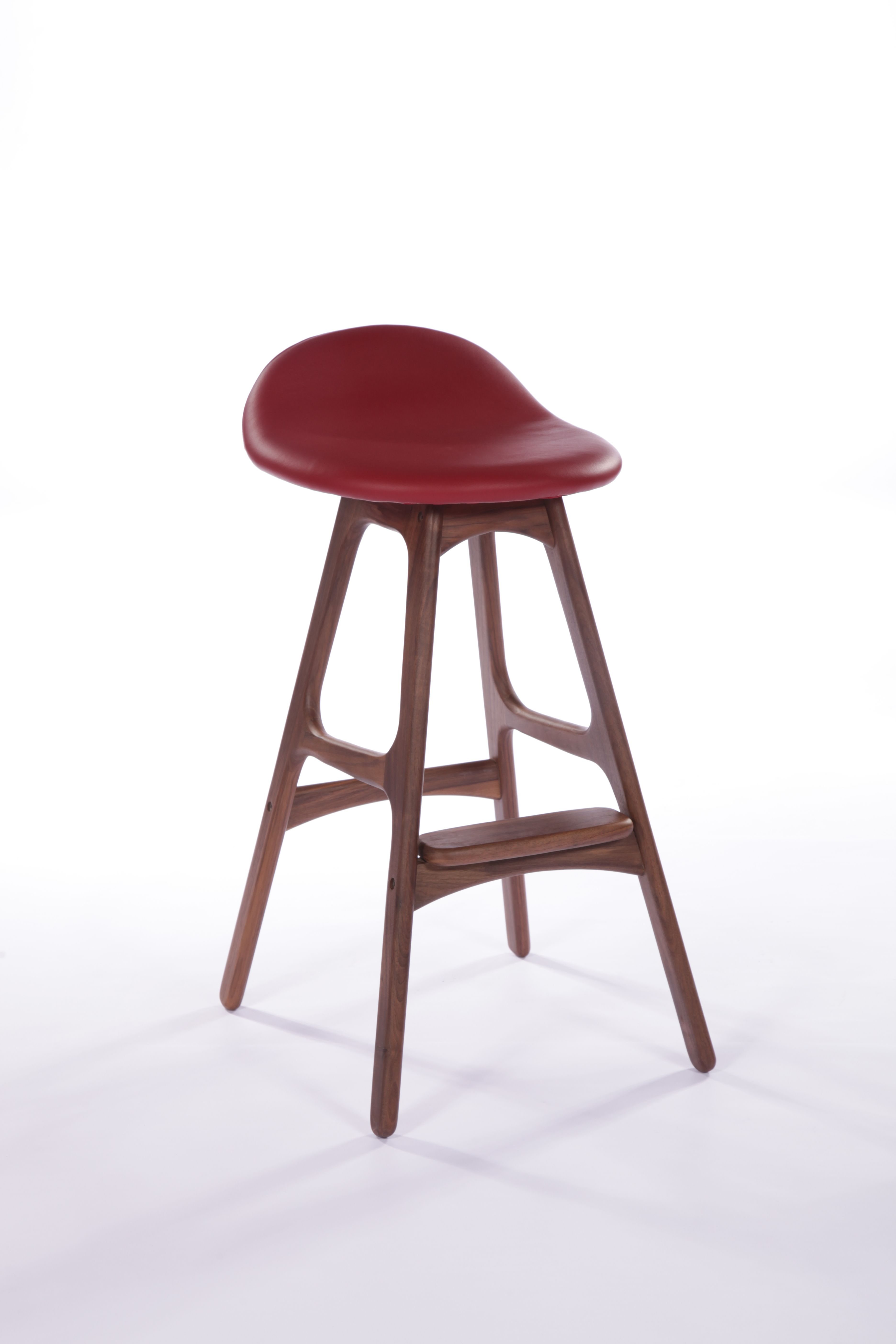 Replica Erik Buch Leather Counter Stool $349 Httpwwwlifeinteriorscom