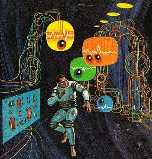 60s sci-fi cover