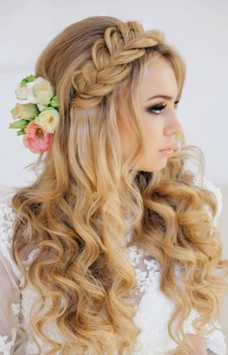 Wedding Half Up Down Hairstyles For 2016 Haircuts 2017 And