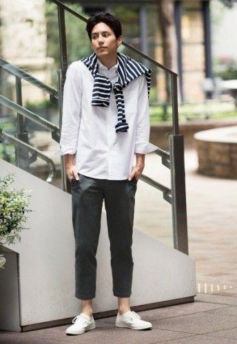 メンズ】グレーパンツコーデ40選|モードな大人の着こなし術