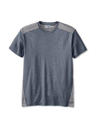 54% OFF Qi New York Men's Allen Fashion T-Shirt (Blue Combo)