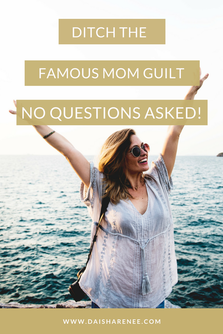 Why Single Moms Need to Ditch the Mom Guilt | Mom guilt
